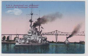 88710 Ak Kriegsschiff SMS