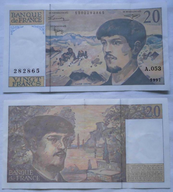 20 Franc Banknote Frankreich 1997 (123139)