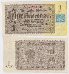 1 Mark Banknote DDR Deutsche Notenbank 1948 Kuponausgabe Ro.Nr.330 b (131942)