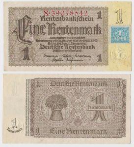1 Mark Banknote DDR Deutsche Notenbank 1948 Kuponausgabe Ro.Nr.330 b (132306)