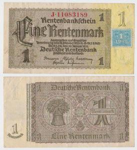 1 Mark Banknote DDR Deutsche Notenbank 1948 Kuponausgabe Ro.Nr.330 b (132301)