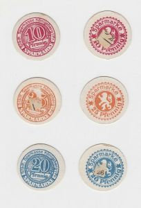 10, 20 & 25 Pfennig Banknoten Notgeld Sparkasse Königsberg i.Fr.  (132872)