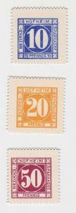 10, 20 & 50 Pfennig Banknoten Notgeld Bezirks-Sparkasse Hofheim (133080)