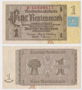 1 Mark Banknote DDR Deutsche Notenbank 1948 Kuponausgabe Ro.Nr.330 b (131835)