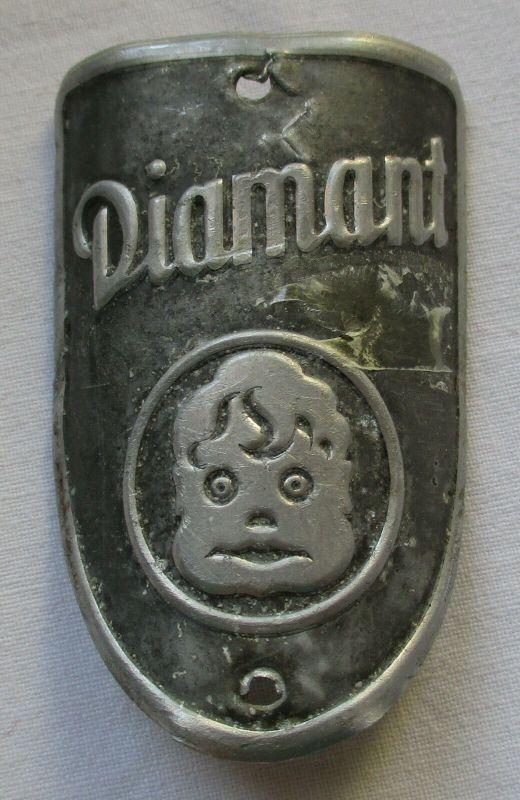 Firmen Plakette Diamant Fahrräder um 1950 (112746)