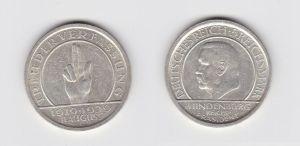 5 Mark Silber Münze Weimarer Republik Verfassung 1929 R f.vz (132676)