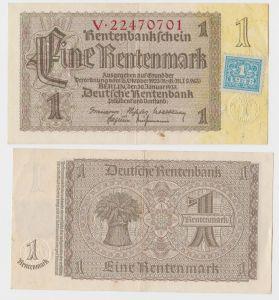 1 Mark Banknote DDR Deutsche Notenbank 1948 Kuponausgabe Ro.Nr.330 b (131801)