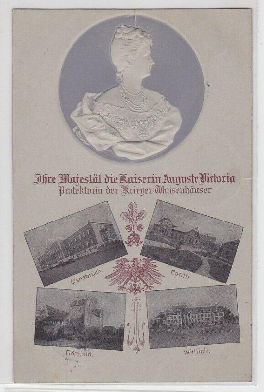 88202 Präge Ak Ihre Majestät die Kaiserin Auguste Victoria 1905