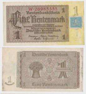 1 Mark Banknote DDR Deutsche Notenbank 1948 Kuponausgabe Ro.Nr.330 b (132156)
