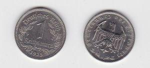 1 Reichsmark Nickel Münze 3.Reich 1935 A Jäger Nr.354 (130979)