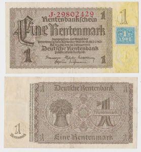 1 Mark Banknote DDR Deutsche Notenbank 1948 Kuponausgabe Ro.Nr.330 b (132154)