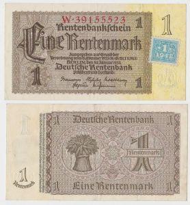 1 Mark Banknote DDR Deutsche Notenbank 1948 Kuponausgabe Ro.Nr.330 b (132151)