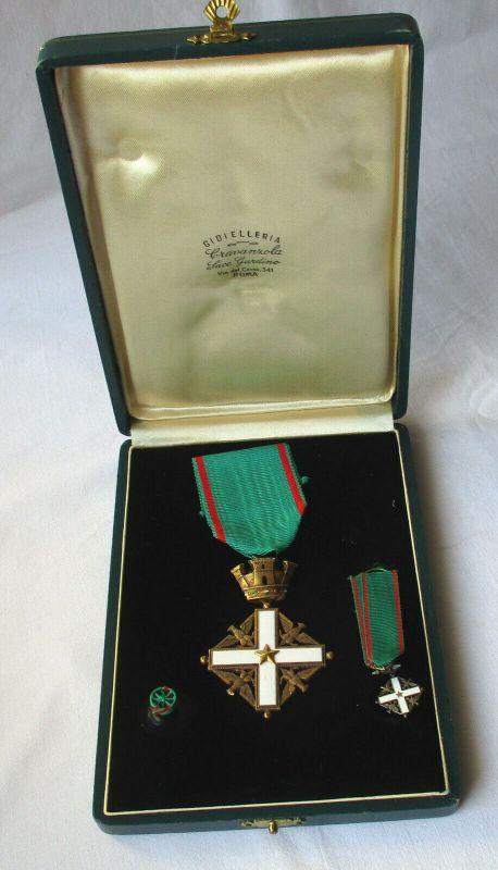 Verdienstorden der Republik Italien, Ritterkreuz im Original Etui (117204)