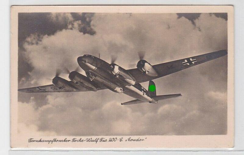 79598 Foto AK Fernkampfbomber Focke-Wulf Fw 200-C