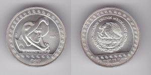 50 Peso Silber Münze Mexiko 1992 Guerrero Aguila 1/2 Unze Feinsilber (132330)