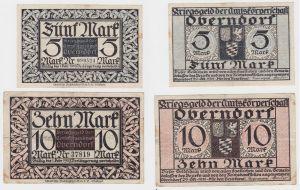 5 & 10 Mark Banknote Notgeld Amtskörperschaft Oberndorf 1918 (132177)