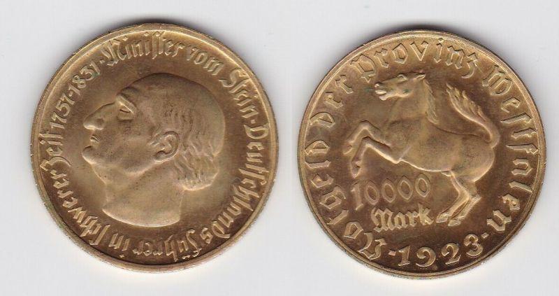 10000 Mark Notgeld der Provinz Westfalen 1923 Jäger N 20a  (131590)