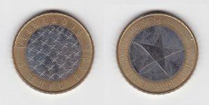 3 Euro Bi-Metall Gedenkmünze Slowenien 2008 EU-Ratspräsidentschaft (130395)