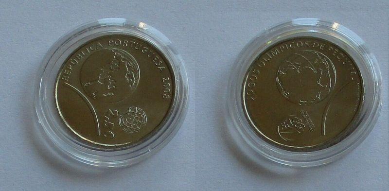 2,5 Euro Münze Portugal 2008 Jogos Olimpicos de Pequim (132279)
