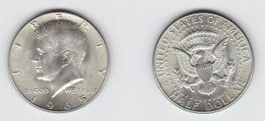 1/2 Dollar Silber Münze USA 1965 J.F. Kennedy (131426)