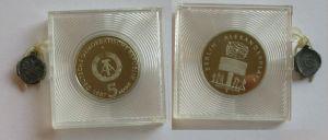 DDR Gedenk Münze 5 Mark 750 Jahre Berlin Alexanderplatz 1987 PP (132089)