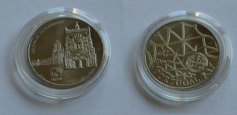 2,5 Euro Münze Portugal 2009 Mosteiro des Jerónimos (131798)