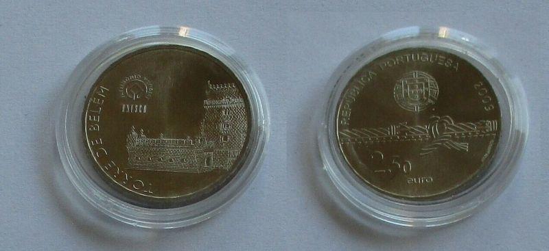 2,5 Euro Münze Portugal 2009 Torre de Belèm (132262)