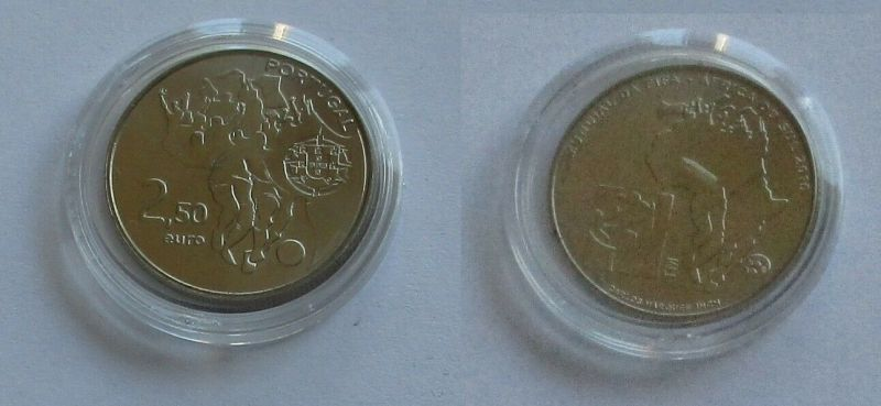 2,5 Euro Münze Portugal 2010 Fußball Weltmeisterschaft 2010 Südafrika (131782)
