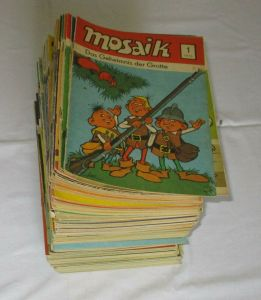 Mosaik Abrafaxe 1/1976 bis 05/1990 komplett 173 Hefte (115526)