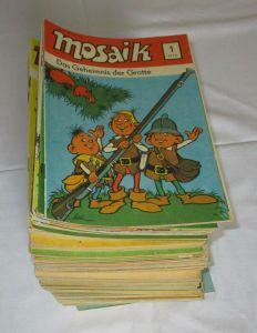 Mosaik Abrafaxe 1/1976 bis 03/1990 komplett 171 Hefte (112294)
