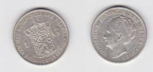 1 Gulden Silber Münze Niederlande 1931 (131035)