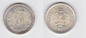 1 Peso Silber Münze Mexiko 1943 (130829)