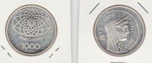 1000 Lire Silber Münze Italien 1970 Concordia Rom Kapitol Roma Capitale (130897)