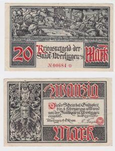 20 Mark Banknote Notgeld Stadt Überlingen 19.Oktober 1918 (132999)