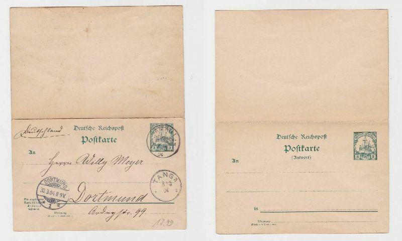 90347 Ganzsachen Ak Deutsch Ostafrika Stempel Amani 1904