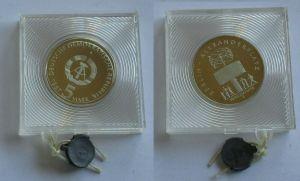 DDR Gedenk Münze 5 Mark 750 Jahre Berlin Alexanderplatz 1987 PP (131998)