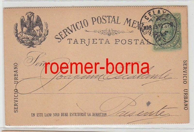 76072 alte Postkarte Mexiko 1920