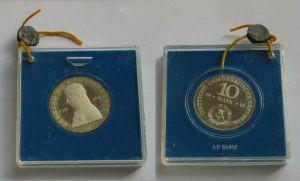 DDR Gedenk Silber Münze 10 Mark Gerhard J.D. v. Scharnhorst 1980 PP (132011)