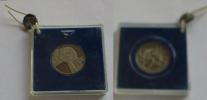 DDR Gedenk Münze 5 Mark Anti Apartheid Jahr 1978 PP verplombt (131988)