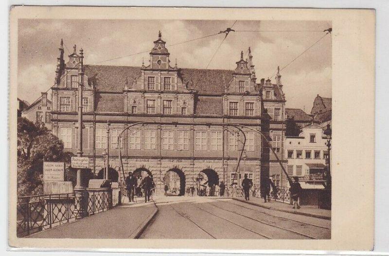 61783 Ak Danzig grünes Tor 1935