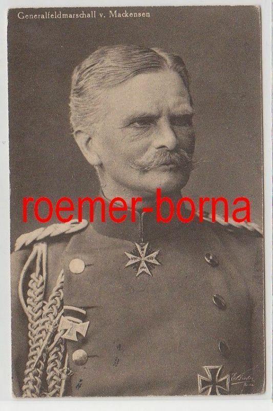 71973 Feldpost Ak Generalfeldmarschall von Mackensen 1917