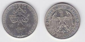 Silber Münze 5 Mark 1000 Jahre Stadt Meißen 1929 E Jäger 339 (131488)
