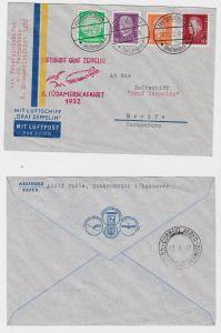 Luftschiff Graf Zeppelin Brief 8.Südamerikafahrt 1932 (121995)