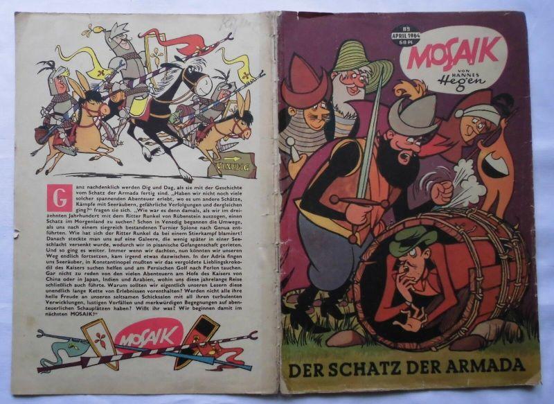 Mosaik von Hannes Hegen Digedag Nummer 89 von 1964 (120083)