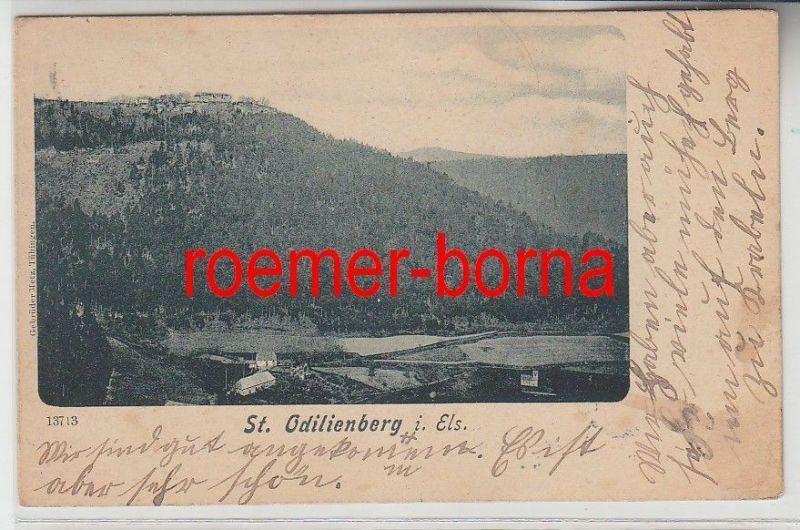 67178 Ak St.Odilienberg im Elsass Totalansicht 1900