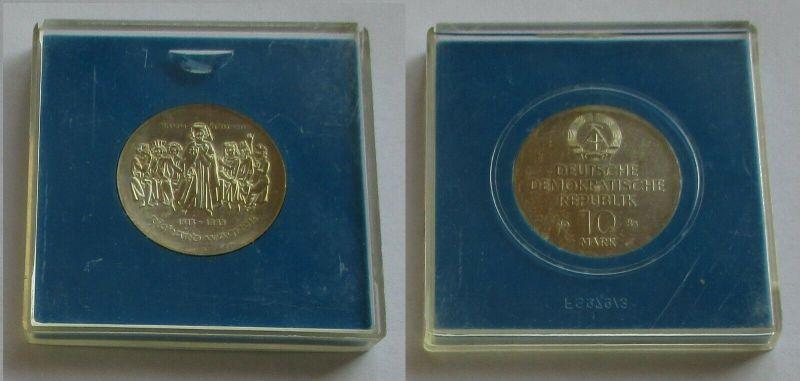DDR Gedenk Münze 10 Mark Richard Wagner 1983 Silber Stempelglanz (132118)