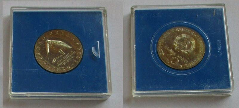 DDR Gedenk Münze 10 Mark Alfred Brehm 1984 Stempelglanz (131653)