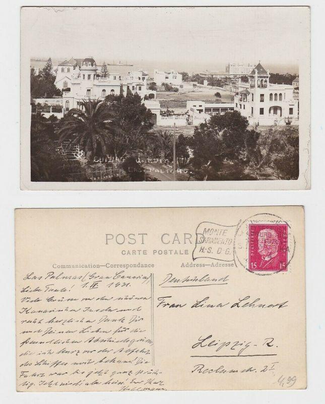 57513 AK Ciudad Jardin, Las Palmas, Gran Canaria, Schiffspost