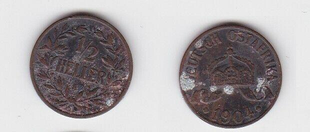 1/2 Heller Kupfer Münze Deutsch Ostafrika 1904 A (130054)