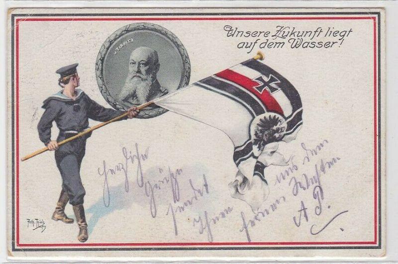 63664 Feldpost Ak Tirpitz